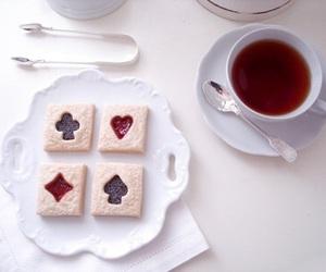 tea, food, and Cookies image