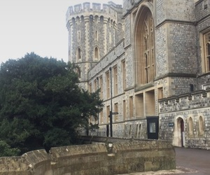 british, castle, and england image
