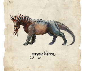 graphorn, harry potter, and fantastic beasts image