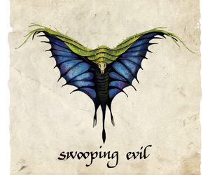 harry potter and swooping evil image