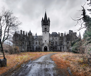 abandoned, belgium, and spooky image