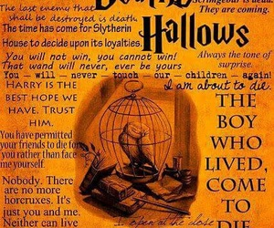 harry potter, deathly hallows, and quotes image