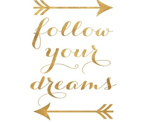 quotes and follow your dreams image