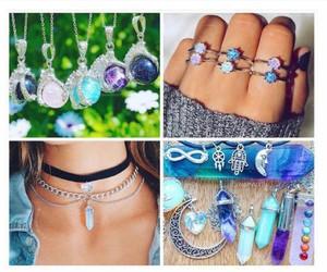 boho, love, and crystal image
