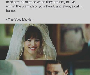 movie, quote, and thevow image