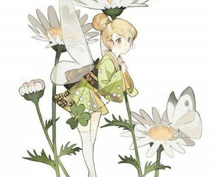 disney, tinker bell, and anime image