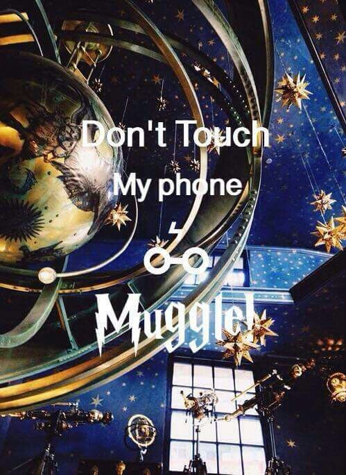 The Best Don't Touch My Phone Muggle Gryffindor Gif
