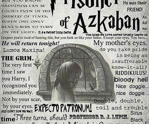 harry potter, book, and prisoner of azkaban image