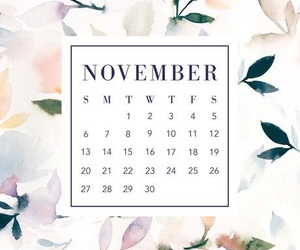 calendar, november, and wallpaper image