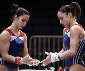 gymnastics and gymnast image