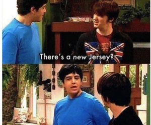 drake and josh, funny, and lol image
