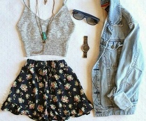 clothes, fashion, and t -shirt image