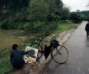 art, nature, and china image