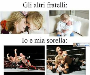 sister, brother, and fratelli image
