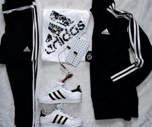 adidas, outfit, and shoes image