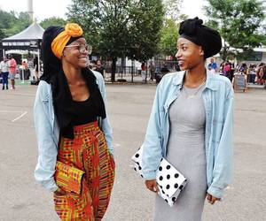 black woman, fashion, and african american women image