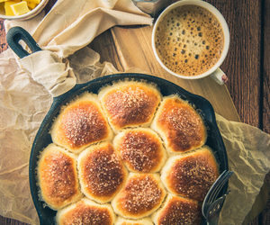 baking, bread, and sweet image
