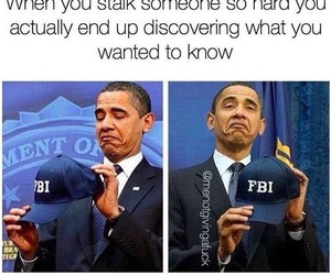 funny, fbi, and obama image