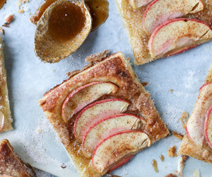 apple, puff pastry, and cinnamon sugar image
