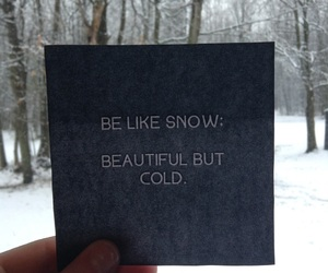 quote, cold, and phrases image