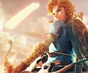breath of the wild, link, and nintendo image