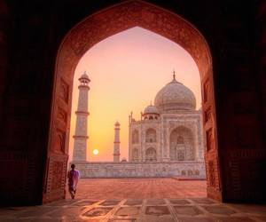 india, place, and view image