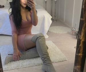 fashion, girl, and makeup image