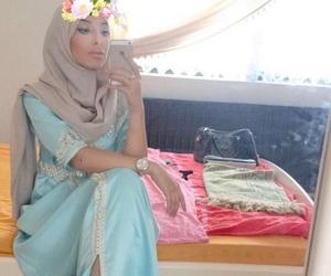 arab, arabic, and dress image