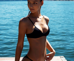 beautiful, fitness, and model image