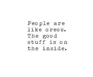 quotes, oreo, and people image