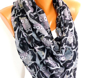 etsy, fashion accessories, and lightweight scarf image