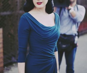 Dita von Teese, Pin Up, and vintage image