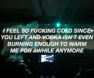breakup, car, and cold image