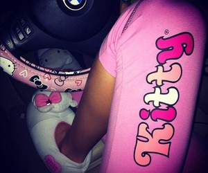 bmw, hello kitty, and pink image