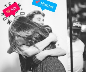 hunter, magcon, and hunter rowland image
