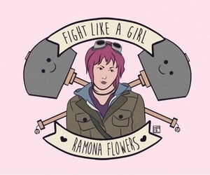 ramona flowers and fight like a girl image