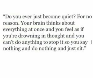 depressive, feel, and quiet image
