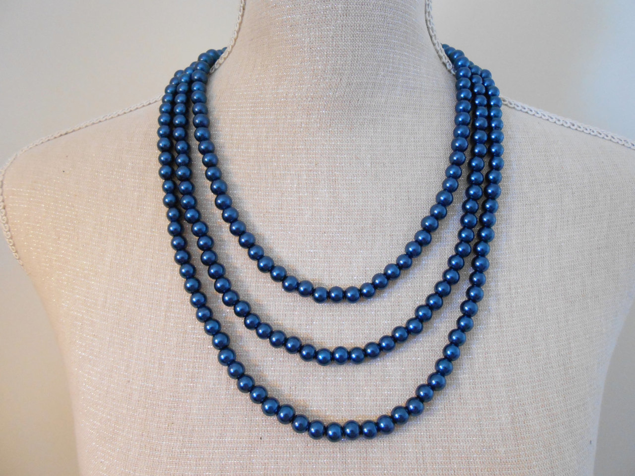 beaded necklace, wedding jewelry, and beaded jewelry image
