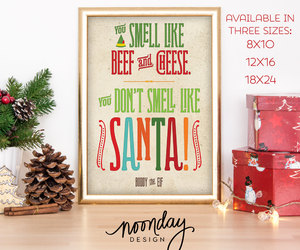 etsy, happy, and christmas poster image