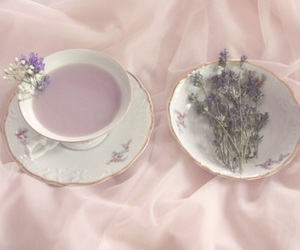 pastel, purple, and witch image