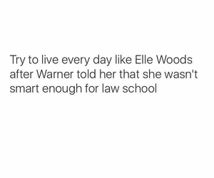 blonde, elle woods, and life image
