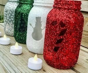 diy, christmas, and candles image