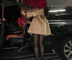 rose, luxury, and car image