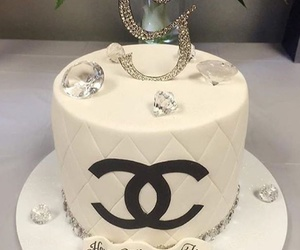 cake, glam, and chanel image