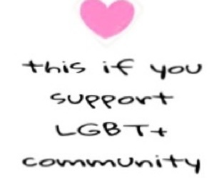 alone, gay, and support image