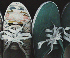 shoes, vans, and vintage image