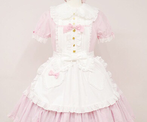 dress, lolita, and pale image