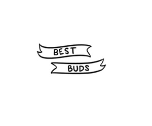 overlays, quotes, and best buds image