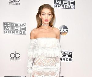 gigi hadid, model, and red carpet image