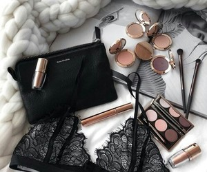 makeup, clothing, and fashion image